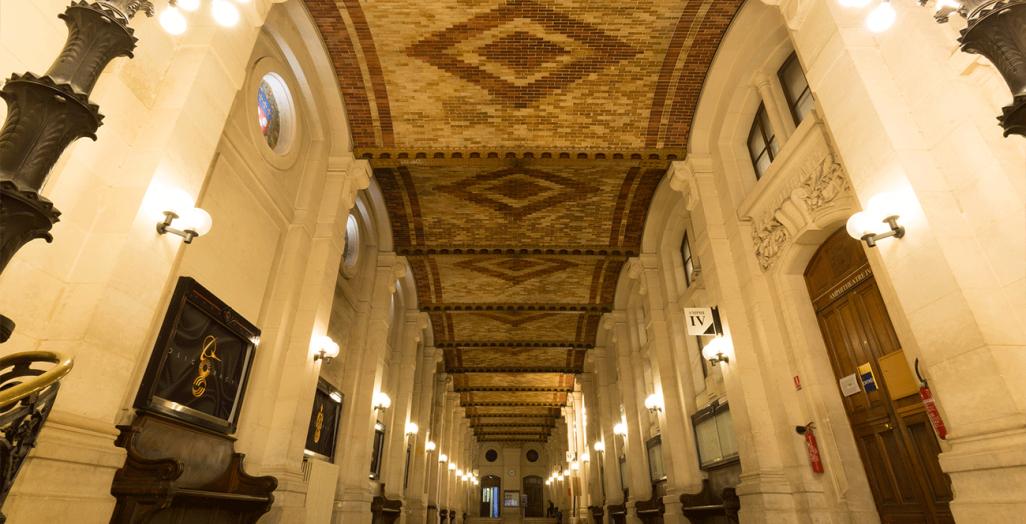 Gallerie Soufflot du centre Panthéon